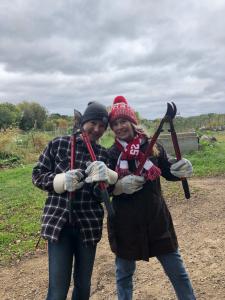 Volunteering at the Lakeshore Nature Preserve